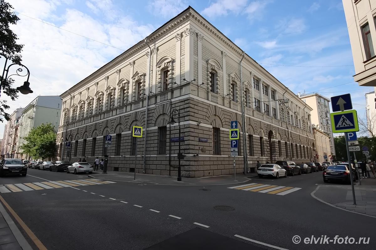Особняк купцов Тарасовых, Здание Института Африки РАН